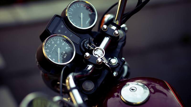バイクのキー専用のキーホルダー・キーケース