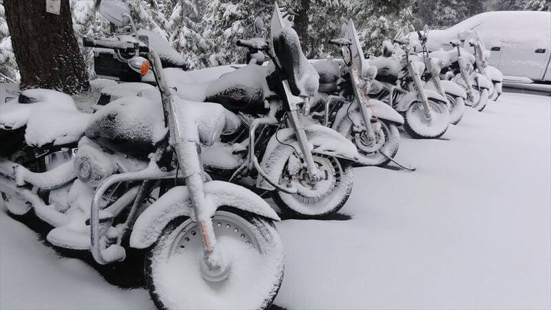 バイク 冬のインナー