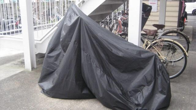 バイクカバーは必須