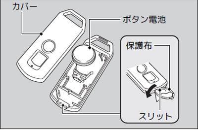 PCXスマートキーの電池交換方法