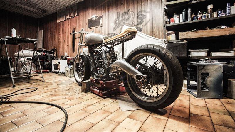 長期間バイクに乗らない場合のバイクカバー