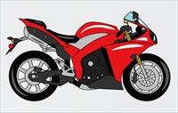 最初のバイク7