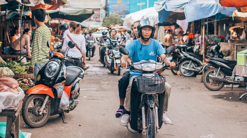 東南アジアの熱気