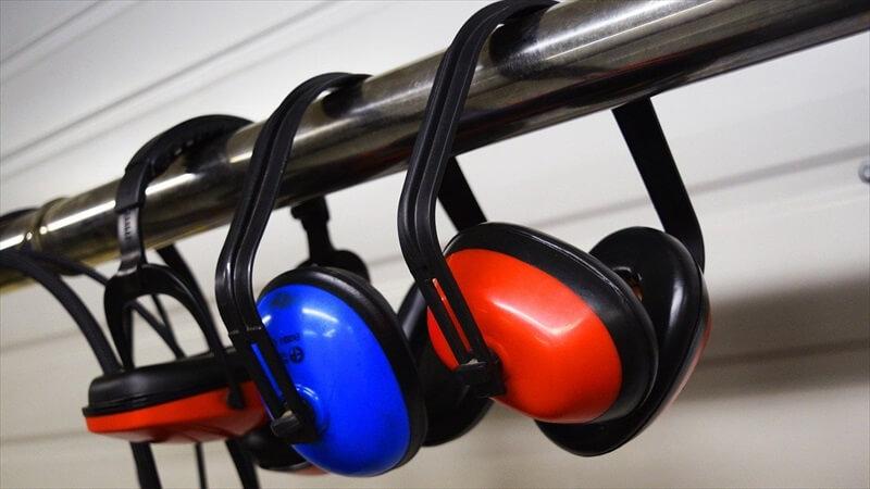 耳栓には色々な形とサイズがある