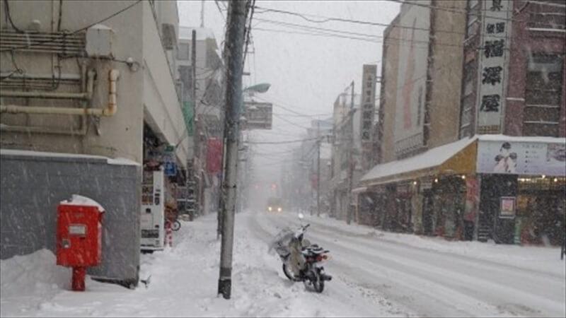 雨の日、寒い日にバイクは辛い