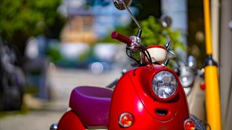 いろいろなヘルメットのスクーター適性