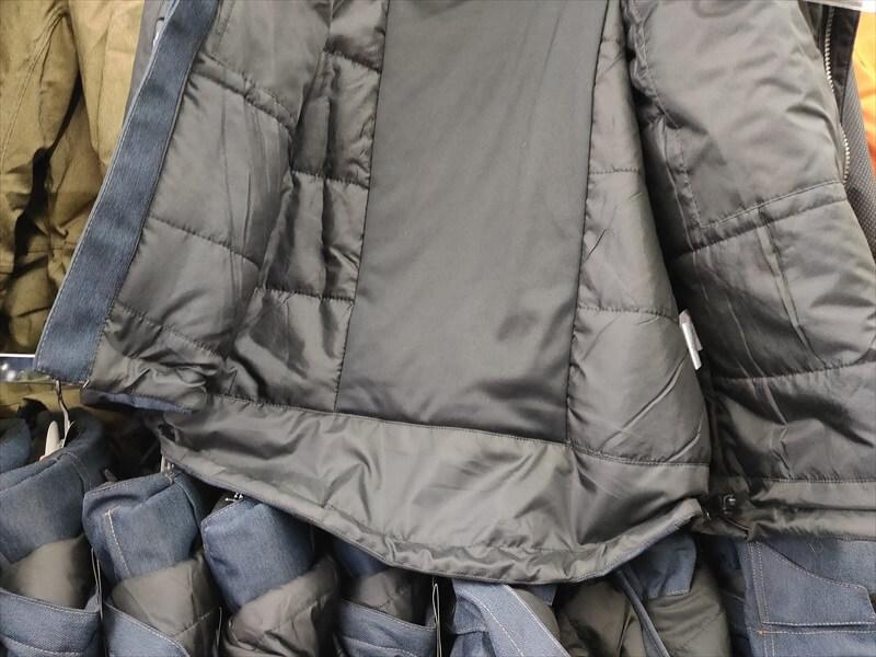 イージス360゜リフレクト透湿防水防寒STRONG 背後の裾