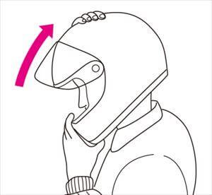 ヘルメットの適正サイズとかぶり方2