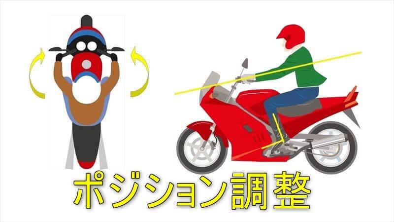 バイクのフィッチング