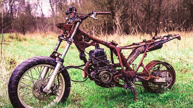 盗難がバイクを劣化させる