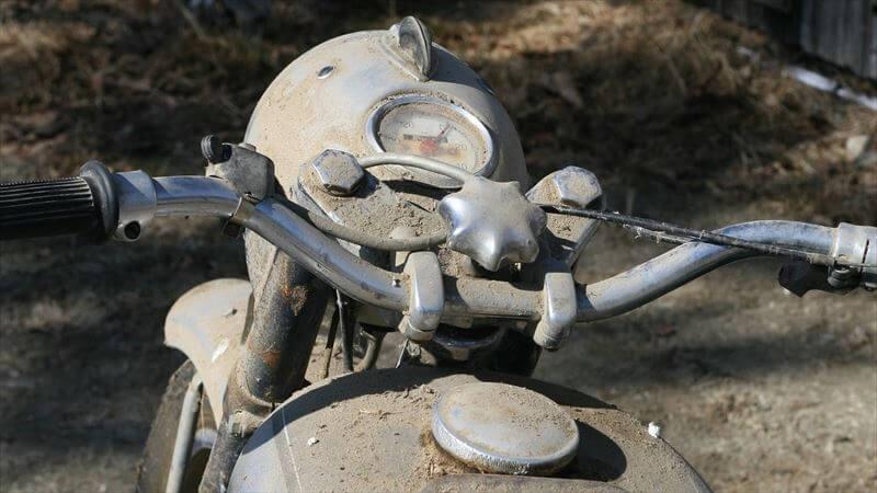 バイクの劣化