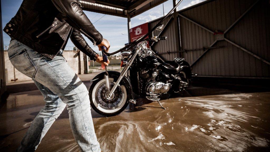 水洗い洗車の準備