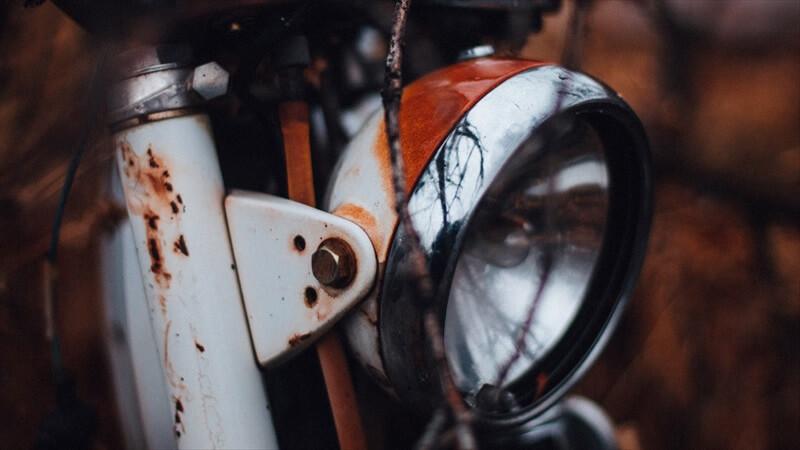 バイクの内部まで進行してしまったサビを取る方法