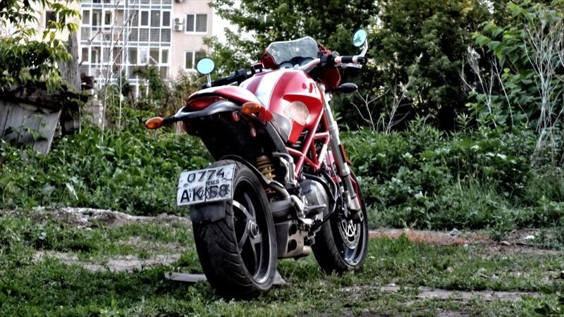 バイクの安全確保
