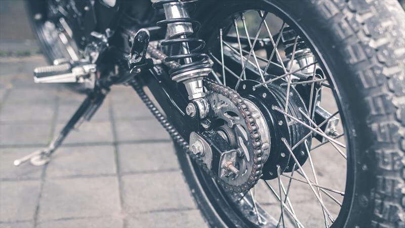 バイクの準備