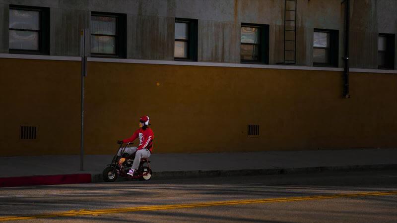 バイクとの車間の取り方