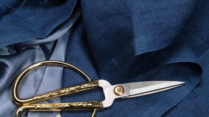 レザーパンツの裾上げ方法