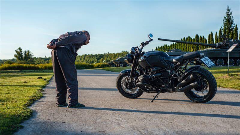 バイクに乗る体力の衰え