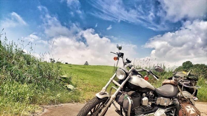 バイク自体の夏対策