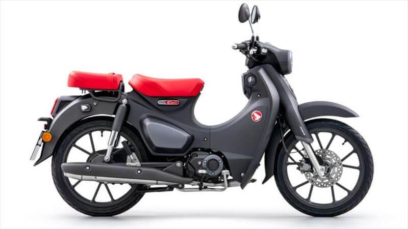 トコトコ行く小排気量なバイク