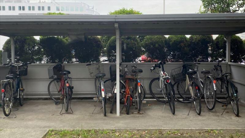 バイク置き場の探し方