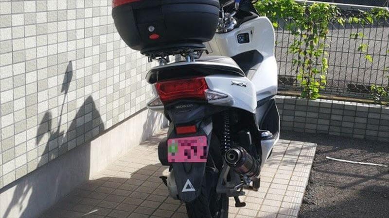 バイクのナンバープレートの盗難、いたずら防止の方法 まとめ