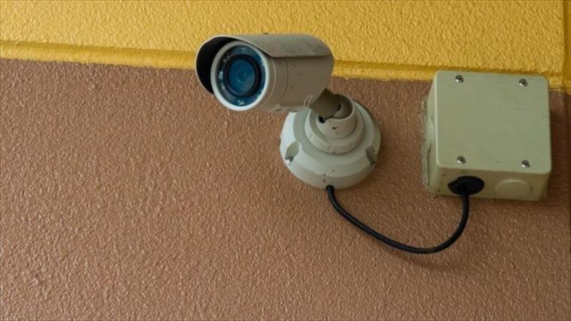 防犯カメラ有り