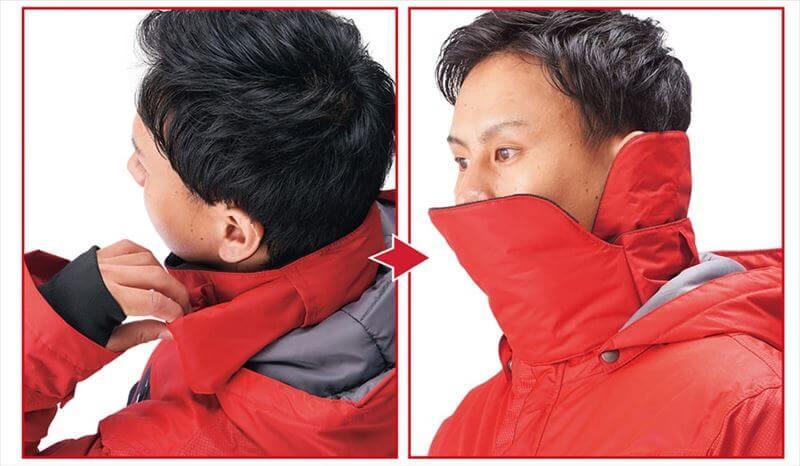 イージス360゜(サンロクマル)リフレクト透湿防水防寒ジャケット2