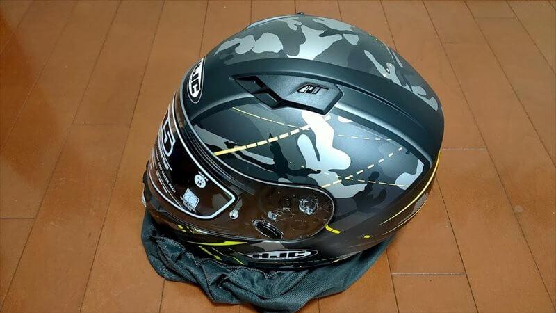 HJC CS-15 フルフェイスヘルメット インプレ
