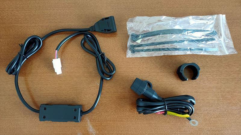 デイトナ USB電源の内容物