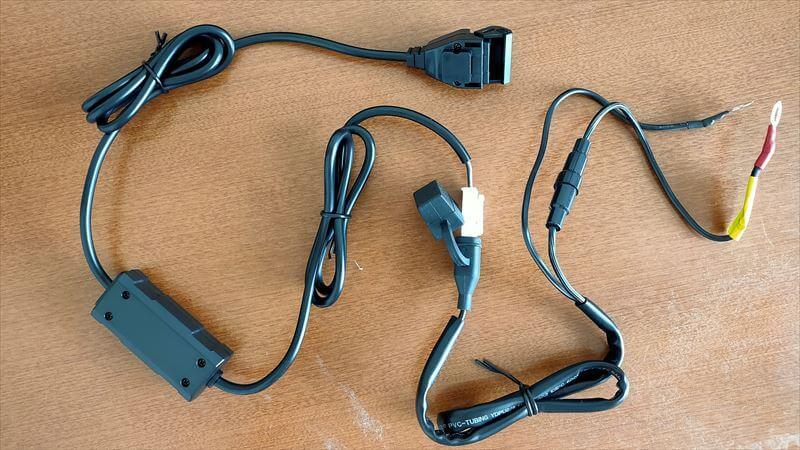 デイトナ USB電源の内容物3
