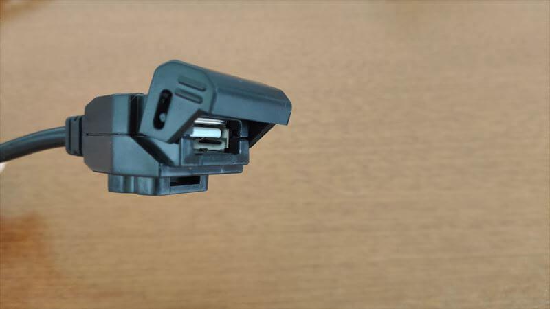 デイトナ USB電源の内容物2