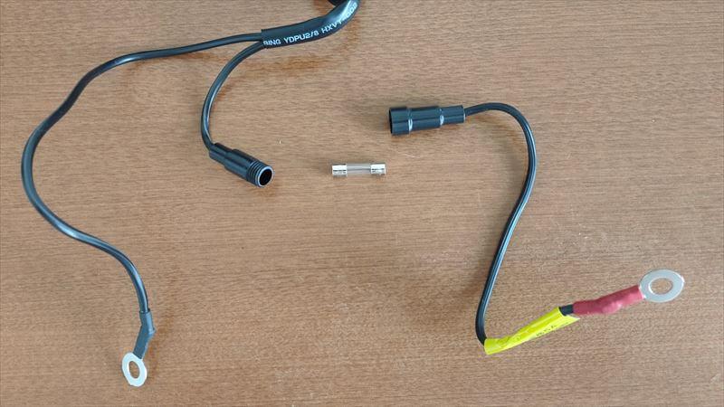 デイトナ USB電源の内容物5