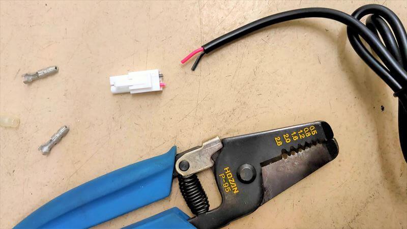 USB本体のコネクタ入れ替え2