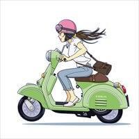 バイクと同じ色か、反対色か?2