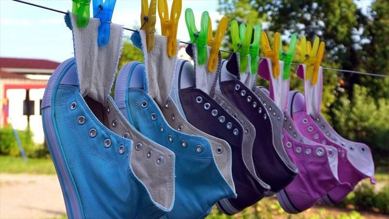 履いたブーツは、完全に乾燥させる