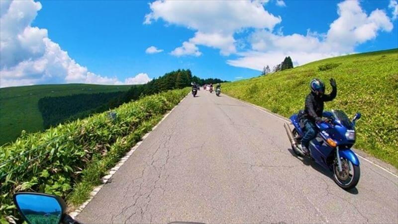 メリット2.レンタルバイクでも撮影が可能